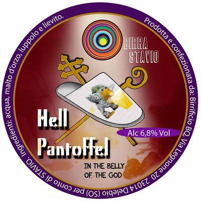 hell pantoffel