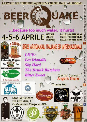 Beerquake AQUAlocandina