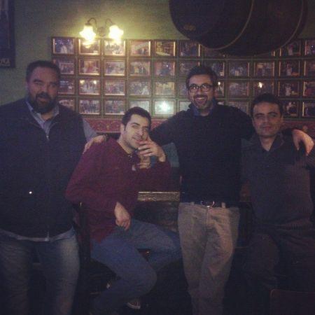 Foto di gruppo all'Ottavonano. Da sinistra: Simone, Gianluca, Mauro e il sottoscritto