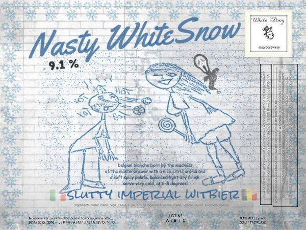 nasty whitesnow