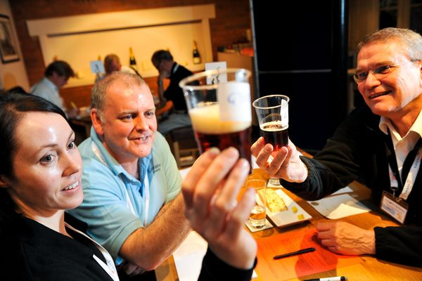 Ther Brewing Industry International Awards - Judging, Burton 2011