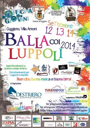 Locandina Balla coi Luppoli 2014