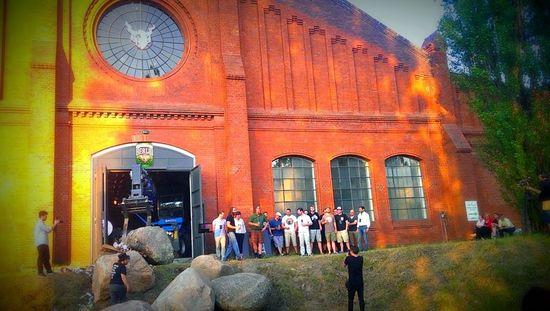 L'evento di presentazione del birrificio europeo di Stone nel luogo che ospiterà lo stabilimento