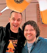 Brayn Jansing e Paul Vismara, autori di Italy: Beer Country