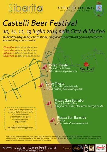 castelli beer festival