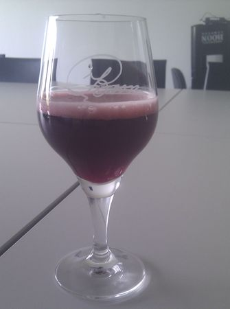 Oude Kriek di Boon, una delle tante acide bevute tra Bruxelles e dintorni