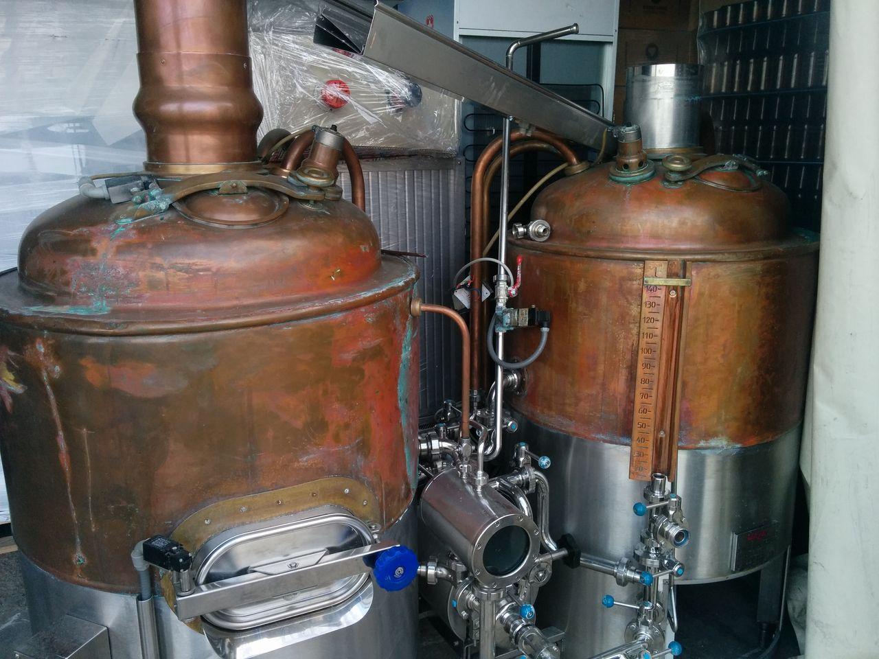 L'impianto Velo del futuro San Lorenzo Beer Lab, ovviamente prima di essere rimesso a nuovo