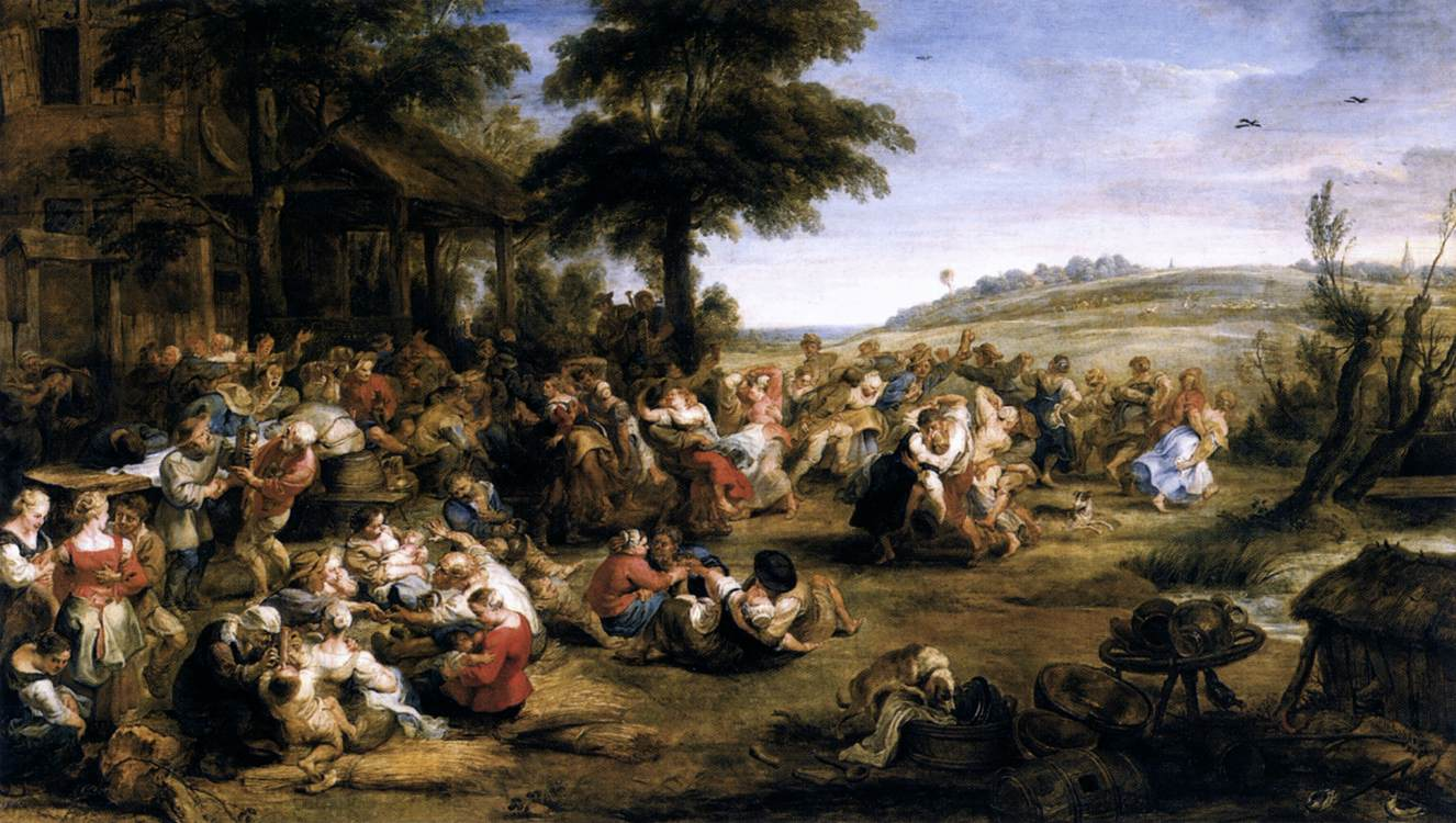 Peter_Paul_Rubens_-_The_Village_Fête_(Flemish_Kermis)_-_WGA20406