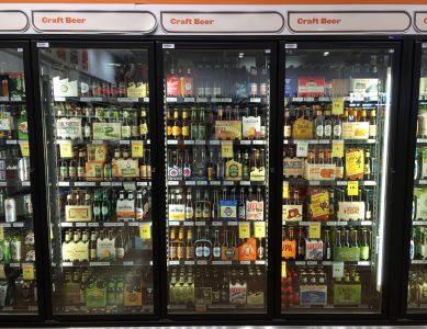 Una delle tante vetrine frigo dedicate che si trovano nei grandi supermarket australiani.