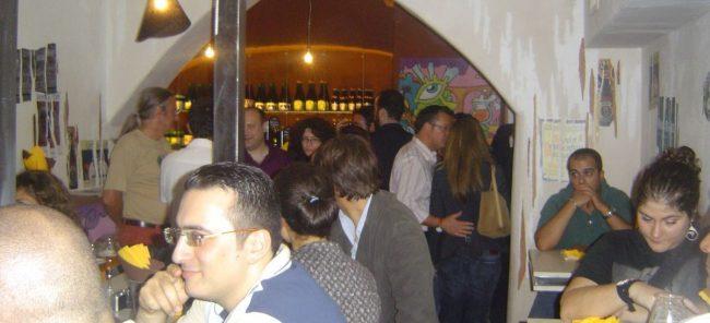 La sala dedicata ai prodotti stranieri