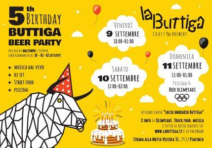 buttiga beer party