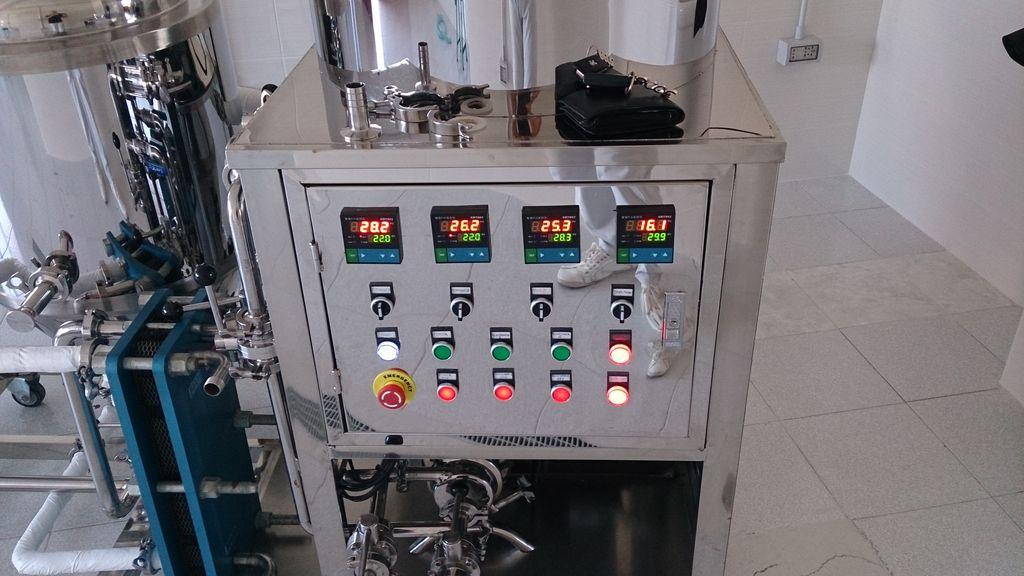 pannello di controllo imp.birra